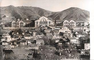 Alexander Mantashev - The Nersisian school in Tiflis, renovated by Mantashev in 1905