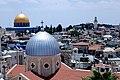 תצפית מלמעלה לעיר העתיקה בירושלים.JPG