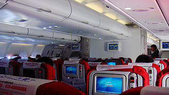 Sichuan Airlines - The Economy Class of Sichuan Airlines Airbus A330
