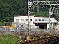 東花園検車区東生駒車庫 Higashiikoma Railyard 2013.8.28 - panoramio.jpg
