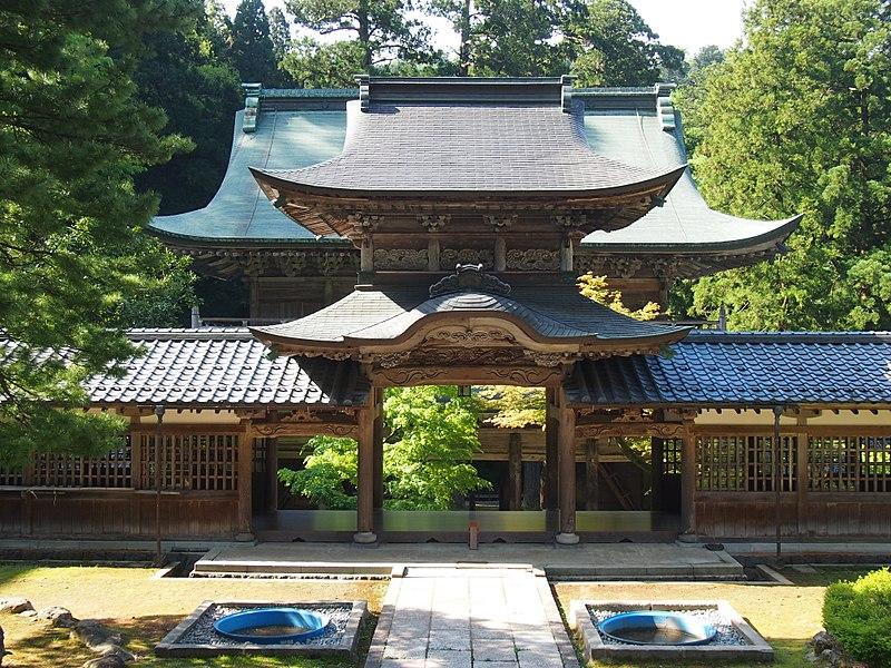 File:永平寺の中雀門.JPG
