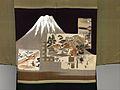 黒平絹地富士図羽織 男物-Man's Formal Jacket (Haori) MET DP330775.jpg