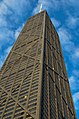 -Chicago - John Hancock building under a cloudy blue sky.- (NIKON D5100 18.0-55.0 mm f-3.5-5.6 1-250 sec at f - 8.0 ISO 320) R=4 File=2011-09-24 Chicago Walk 041 (34890925570).jpg