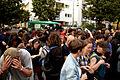 -Ohlauer Räumung - Protest 27.06.14 -- Lausitzer - Reichenberger Straße -- Pfefferspray-Einsatz (14529233905).jpg
