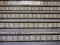 004 Casa Torrebadella, c. Anselm Clavé 29 (Granollers), detall dels graons de l'entrada.jpg
