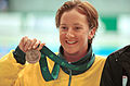 011200 - Swimming Brooke Stockham bronze medal - 3b - 2000 Sydney medal photo.jpg
