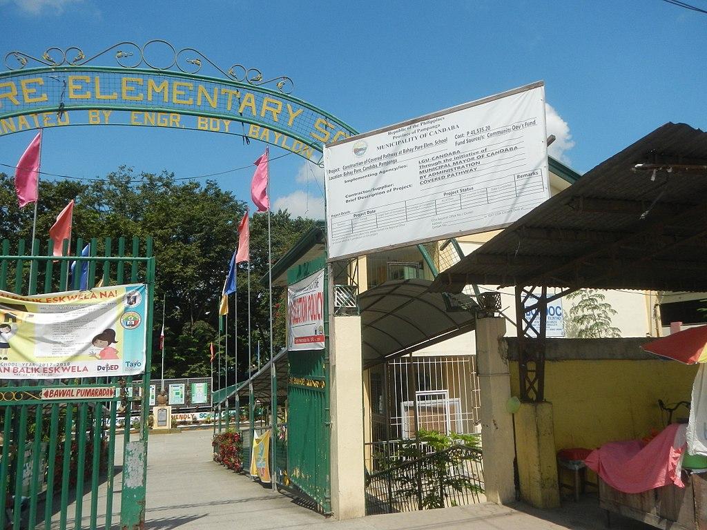 File:01288jfNuestra Señora de la Merced Church School Bahay
