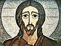01 A Matuliausko mozaika Kristus Marijampolės bažnyčioje 1997.jpg