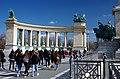 03 2019 photo Paolo Villa - F0197810 bis - Budapest - Piazza degli eroi - Monumento del millennio.jpg