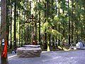 060. Levashovo memorial cemetery. Memorial a cross.JPG