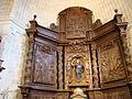 06b Olmos Peñafiel iglesia Santa Engracia retablo Ni.JPG