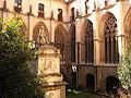 084 Catedral, claustre i monument a Jaume Balmes.jpg