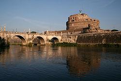 0 Pont et château Sant'Angelo - Rome (1).JPG