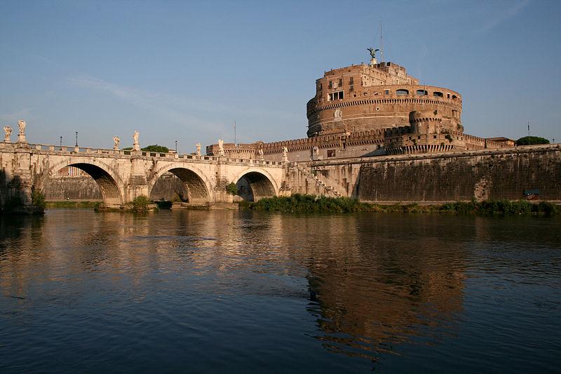 File:0 Pont et château Sant'Angelo - Rome (1).JPG