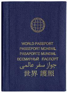 Australian passport consent form