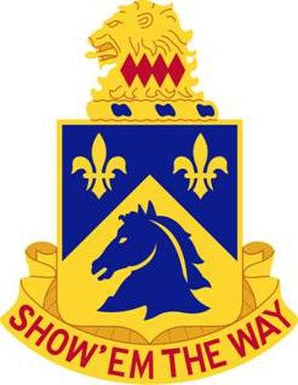 102nd Cavalry Regiment - Image: 102Cav Regt DUI