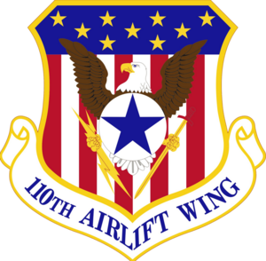 110th Attack Wing - Image: 110th Airlift Wing Emblem