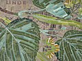 1170 Andergasse 10-12 - Ernest Bevin-Hof Stg 4 - Hauszeichen Linde von Hildegard Krampa 1958 IMG 4746.jpg