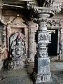 11th century Panchalingeshwara temples group, Kalyani Chalukya, Sedam Karnataka India - 28.jpg