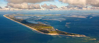 Sylt - September 2013 aerial photograph of Sylt