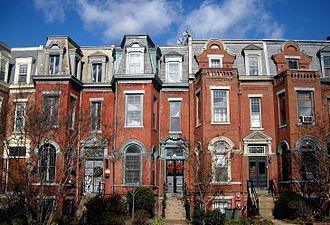 Fourteenth Street Historic District - Image: 1501 1509 R Street, NW