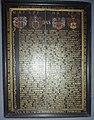 1578 Brockenhus Litle Gyldenhorn Gyldenløve minnetavle.jpg