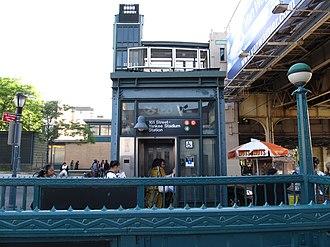 161st Street–Yankee Stadium (New York City Subway) - Image: 161 Street entrance vc