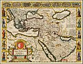 1626 map of the Turkish Empire, newly augmented by John Speed.jpg