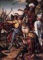 16th-century unknown painters - Martyrdom of St Sebastian (right panel) - WGA23784.jpg