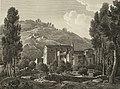 1806-1820, Voyage pittoresque et historique de l'Espagne, tomo I, Vista del monasterio de Juste (cropped).jpg