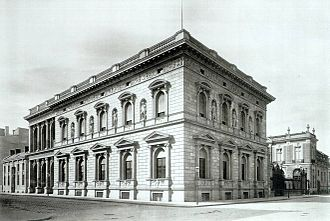 Borsig Palace - Palais Borsig in 1881