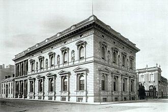 Voßstraße - Palais Borsig, about 1881