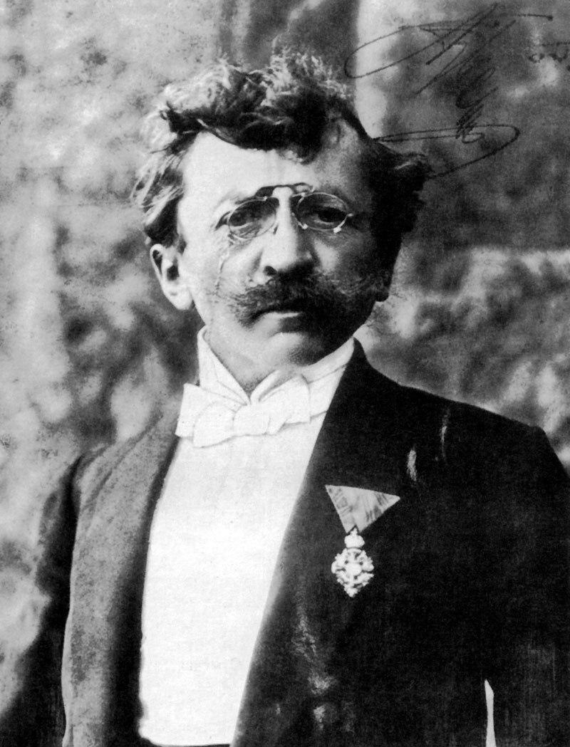 1904 photo of Anton Ažbe