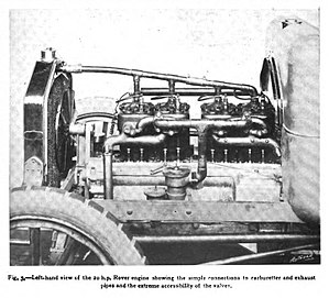 Rover 20 - engine's near side