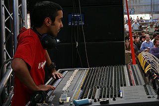 Live sound mixing Sound mixing at an event