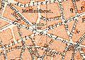 1911 circa Stadtplan Hannover, Geographische Anstalt von Wagner & Debes, Ausschnitt Steintor.jpg