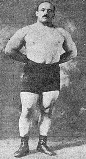 Stanislaus Zbyszko Polish strongman and professional wrestler