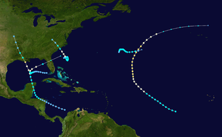 1920 Atlantic hurricane season hurricane season in the Atlantic Ocean