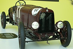 1921 Alfa Romeo G1 in Museo Enzo 2015.jpg