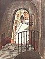 1924-10-18, La Esfera, Madrid viejo, Apuntes sobre el carácter, Luis Bello, Sancha, 02 (cropped) Calle de la Escalerilla de Piedra.jpg