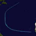 1924 Atlantic tropical storm 7 track.png