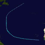 1924 Atlantic tropical storm 7 track.png