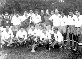 Club Nacional de Football - Nacional in 1934, when winning the Torneo Competencia.