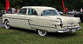 1954 Packard Patrician Touring Sedan rear left, Lime Rock.jpg