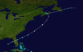 1959 Escuminac hurricane track.png