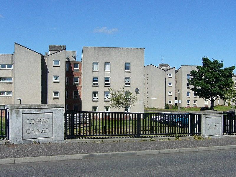 800px 1960s Council housing scheme%2C Kingsknowe Edinburgh