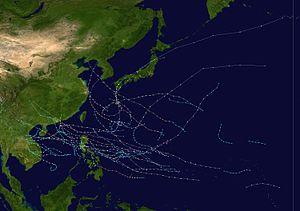 1964 Pacific typhoon season