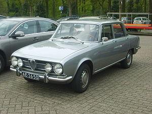 Alfa Romeo 1750 Berlina - 1968 Alfa Romeo 1750 Berlina