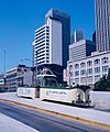 "1983 SF Historic Trolley Festival - Blackpool ""boat"" tram 226 at the Transbay Terminal.jpg"