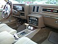 1986 Buick Regal Stage One; Center Console.jpg